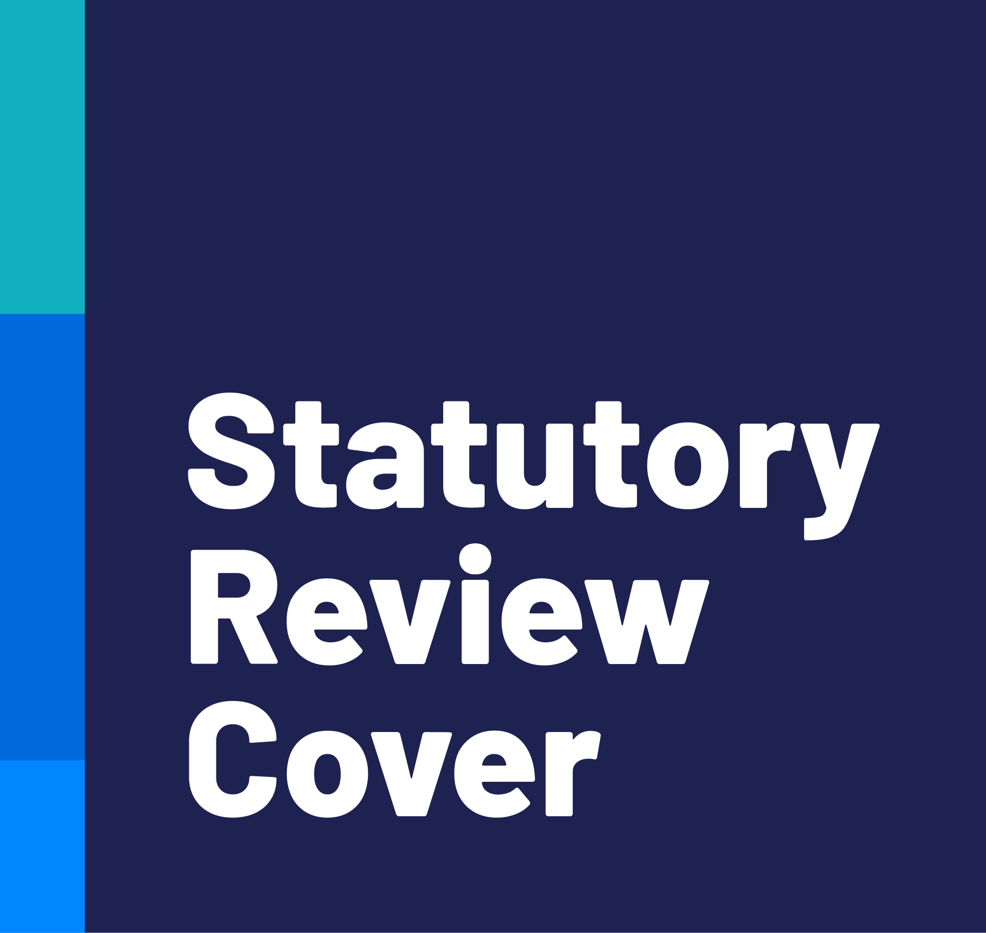 Statutory Review Cover